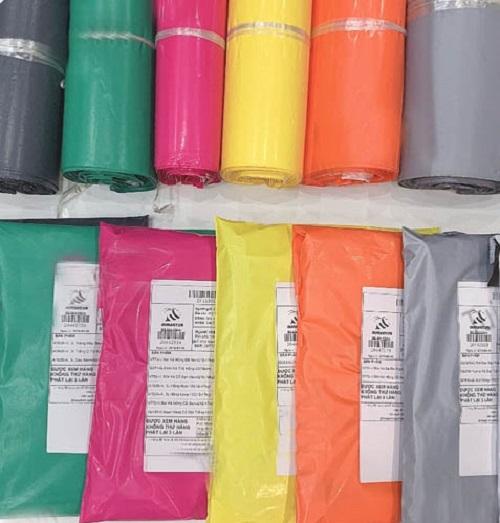 in túi nilon giao hàng chất lượng
